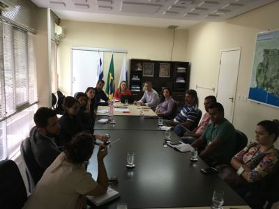 Membros do Fórum Estadual de Turismo na primeira reunião do colegiado em 2018