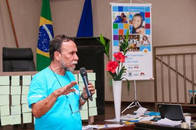 O oficial do Unicef, Antônio Carlos Cabral, concluiu os trabalhos reforçando o maior objetivo do Fundo