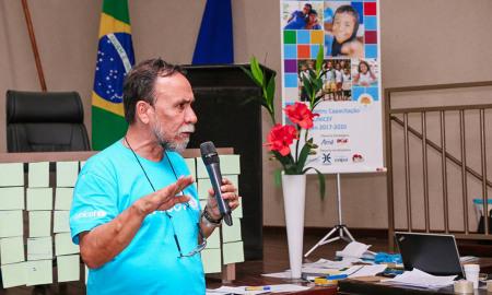 O oficial do Unicef, Antônio Carlos Cabral, concluiu os trabalhos reforçando o maior objetivo do Fundo com a realização do Selo