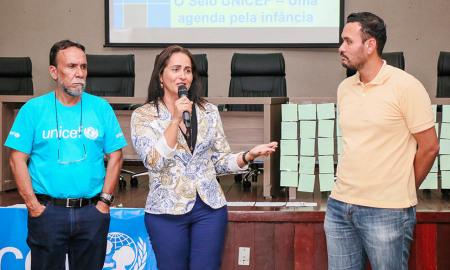A secretária Patrícia do Amaral ressaltou a importância de trabalhar para agregar serviços e pessoas nessa fase do processo