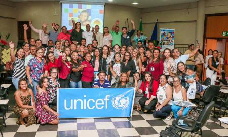 Participantes do 1º Encontro de Capacitação do Selo do Fundo das Nações Unidas para a Infância (Unicef) edição 2017-2020