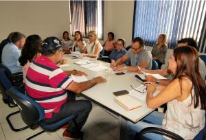 Reunião com delegados regionais de serviços da Adapec