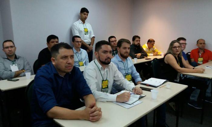 A supervisão de Produtos e Subprodutos Florestais do Naturatins, participou de evento do Ibama