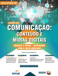 Curso de Comunicação de Conteúdo e Mídias Digitais