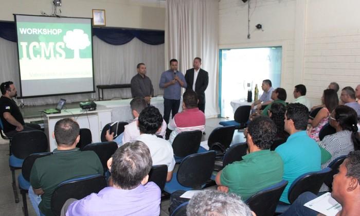 Workshop ICMS Ecológico em Gurupi em 2017