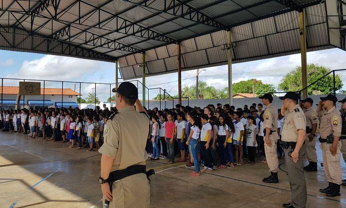 PM levará projeto a todas as escolas da região sul de Palmas