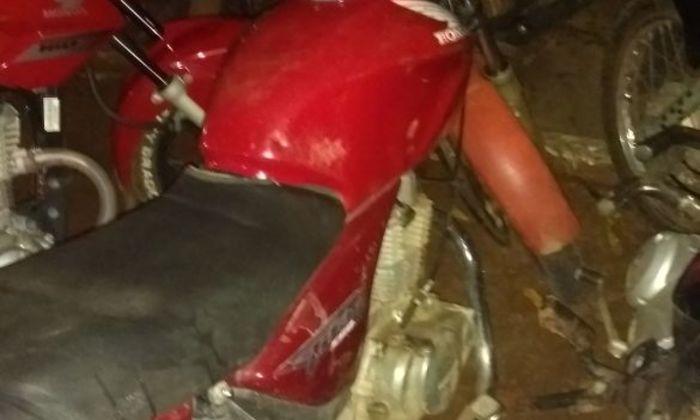 Motocicleta é apreendida em Araguaína