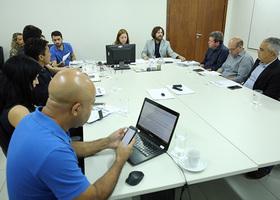 PGE Sérgio do Vale  participa de reunião de trabalho do Núcleo de Prevenção e Regularização Fundiária