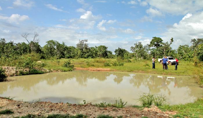 Uma das ações apresentadas pelo Governo do Tocantins no 8º Fórum Mundial da Água é Projeto Barraginhas, que já resultou na construção de 3.564 pequenas barragens na região sudeste do Estado