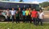 Delegação tocantinense saiu de Palmas nesta segunda-feira, 19