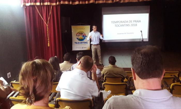 James Possapp, superintendente de  Desenvolvimento Turístico da Seden, reforçou a importância de parcerias para o evento