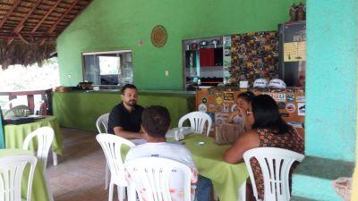 Richarlisson Pinheiro realiza pesquisa nos estabelecimentos da região