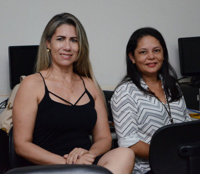 Simone e Cleide servidoras selecionadas pelo Observatório Nacional de Segurança Viária