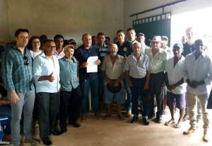 Comunidade do Povoado Mansinha prestigia inauguração do novo posto de atendimento