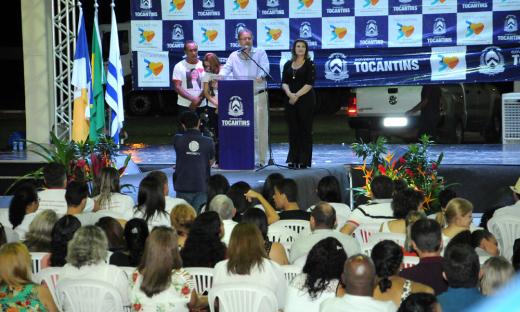 Marcelo Miranda afirmou que as ações do Governo atingem a valorização profissional e as melhorias da infraestrutura e que a Escola representa investimento no desenvolvimento humano de nossos jovens