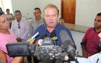Durante a visita em Gurupi, Mauro Carlesse anunciou a criação de uma Força Tarefa para combate à criminalidade no Tocantins