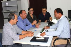 Novo presidente da Adapec se reúne com representantes dos sindicatos dos servidores