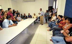 Novo presidente da Adapec se reúne com os colaboradores