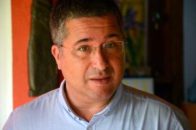 representante da Embaixada do Brasil na Holanda, Ivens Signorini,
