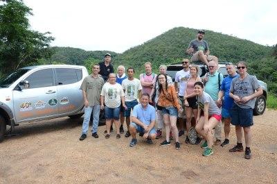Holandeses visitam atrativos naturais em Taquaruçu