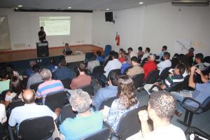 O evento teve como proposta tirar dúvidas e enfatizar a importância de se adiantar em realizar o cadastro dos processos no Sinaflor