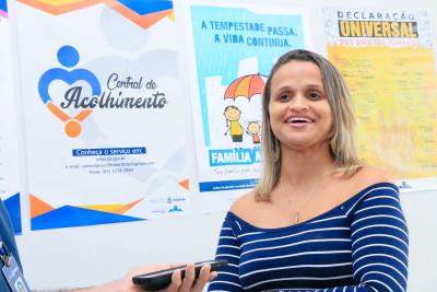 Geiziane Gomes Amaral, de Monte do Carmo pontua a importância da capacitação