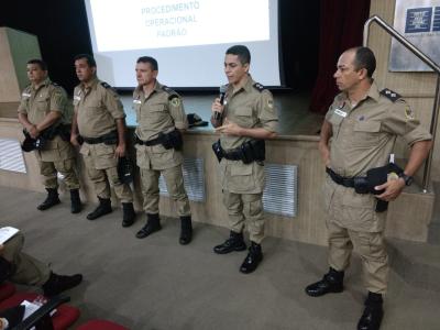 Curso Operacional Padrão ministrado em Araguaína