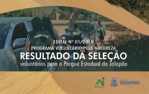 Programa Voluntário pela Natureza divulga resultado do edital de seleção