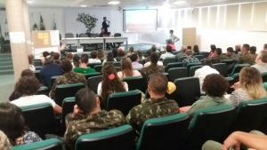 Durante o evento os agentes também destacaram as novas técnicas e abordagens, bem como o diálogo com os comunitários