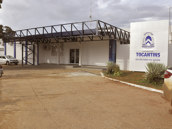 Em Porto Nacional, o Governo do Tocantins está reformando várias alas do hospital regional