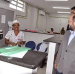 O secretário de Estado da Saúde, Marcos Musafir, percorreu as unidades hospitalares do Estado para fazer uma vistoria técnica