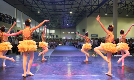 Escola conta com um polo do Balé Popular do Tocantins
