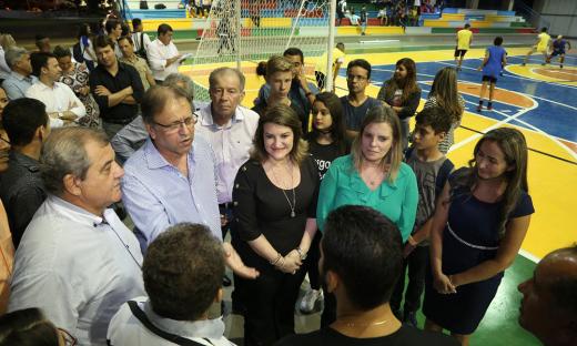 Escola foi inaugurada no mês de março pelo governador Marcelo Miranda