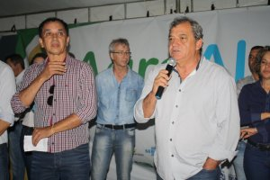 Rui Costa Brito, vice-presidente do Ruraltins, prestigiou a abertura oficial da Agroalmas 2018