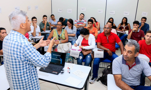28 pessoas participam do curso no Sine de Palmas