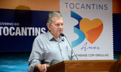 O secretário da Seagro, Clemente Barros, destacou o crescimento do agronegócio no Tocantins e o apoio do governador Marcelo Miranda para o desenvolvimento do setor - Tharson Lopes/ Governo do Tocantins