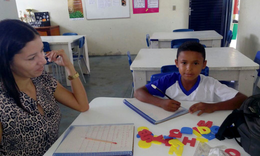 Com esse projeto, estão sendo atendidos alunos do 4º e do 5º ano ao ensino fundamental