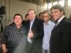 Prefeito Armando Alencar, Governador Mauro Carlesse e Colemar Câmara