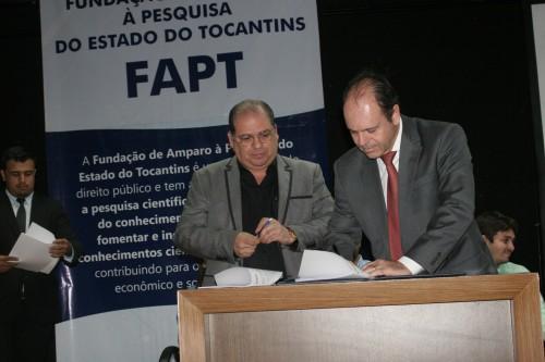 Luís Eduardo Bovolato, reitor da UFT, foi um dos conselheiros empossados