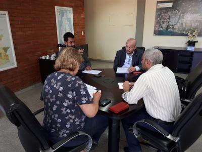 Superintendência deHabitação e Banco Paulista definem cronograma de execução de obras
