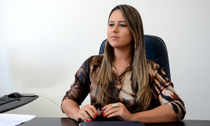 Vanessa Alencar, presidente da Jucetins