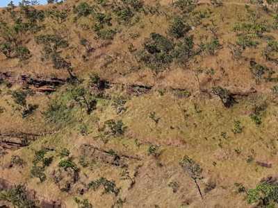 Local onde os três estudantes estavam e forma resgatados pelo CIOPAER