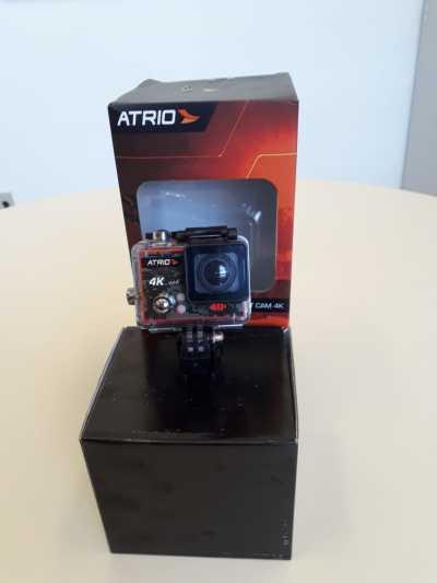 Câmera Atrio 4k entregue à Acadepol pelo FUMPOL