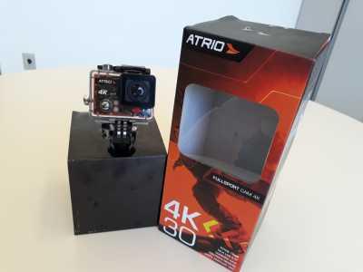Câmera fotográfica Atrio 4k recebida pela Aacadepol por aquisição com recursos do FUMPOL