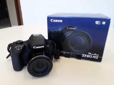 Câmera fotográfica Canon SX 60 HS entregue à Acadepol com recursos do FUMPOL