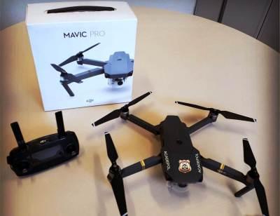 Drone Mavic Pro adquirido para a Academia de Polícia Civil do Tocantins com recursos do FUMPOL