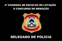 4ª CHAMADA ESCOLHA DE LOTAÇÃO E CONCURSO DE REMOÇÃO