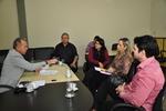 Subsecretário em reunião com os representantes da Unimed Gurupi
