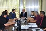 Subsecretário em reunião com Sindicatos explica transição do Plansaúde