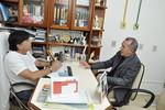 Subsecretário, Edson Cabral,  visita os prestadores de serviço do Plansaúde
